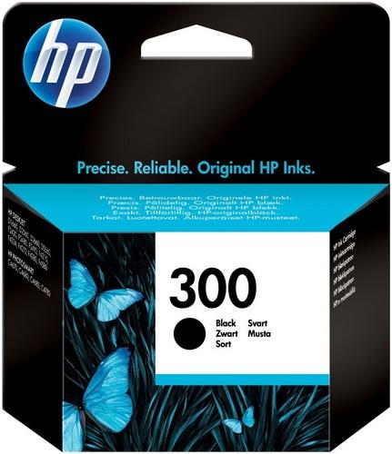 HP Nr. 300, TPA schwarz, CC640EE