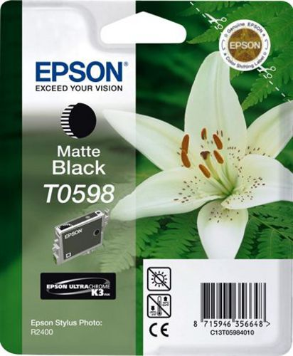 Epson T05984010, Cartouche d'encre noir mat