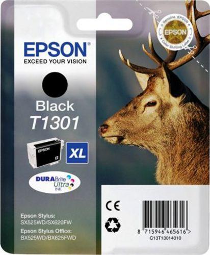Epson T1301, TPA schwarz, 25.4ml
