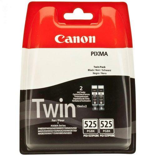 Canon PGI-525BK Twinpack, Cartuccia d'inchiostro nero, 2x 19 ml