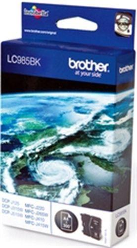 Brother LC985BK, Cartuccia d'inchiostro nero, 300 pagine