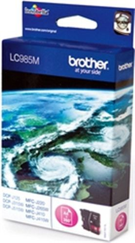 Brother LC985M, TPA magenta, 260 Seiten
