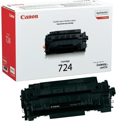 Canon 724, Toner schwarz, 6'000s