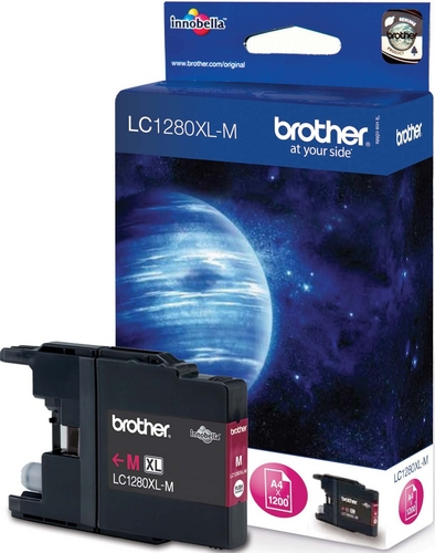 Brother LC1280XLM, Cartuccia d'inchiostro magenta, 1'200 pagine