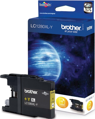 Brother LC1280XLY, TPA yellow, 1'200s