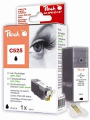 Peach XL-Tintenpatrone schwarz kompatibel zu Canon PGI-525