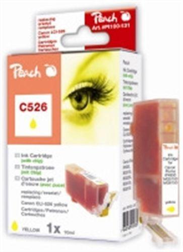 Peach XL-Tintenpatrone gelb kompatibel zu Canon CLI-526, CLI-526 y