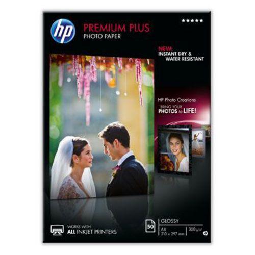 50 A4 Premium Plus Photo Paper 300g/m2, glossy