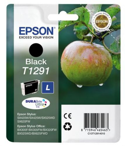 Epson T1291, Cartuccia d'inchiostro nero, 11.2ml