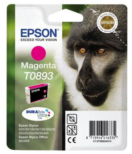 Epson T0893, Cartouche d'encre magenta, 3.5ml
