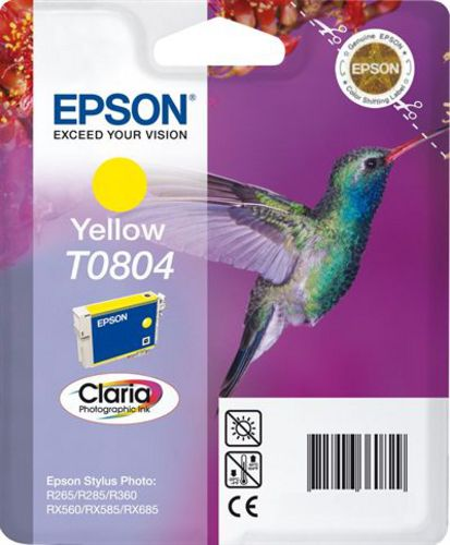 Epson T0804, TPA yellow, 7.4ml