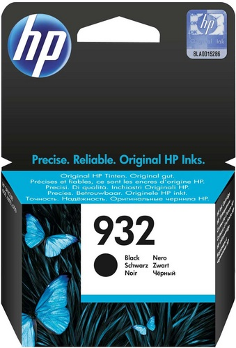 HP Nr. 932 noir, Cartouche d'encre noir, 400 pages