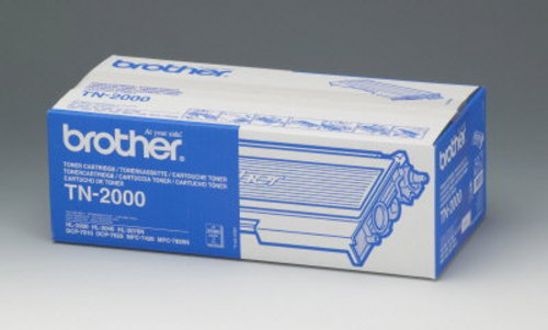 Brother TN-2000, Toner noir 2'500 pages