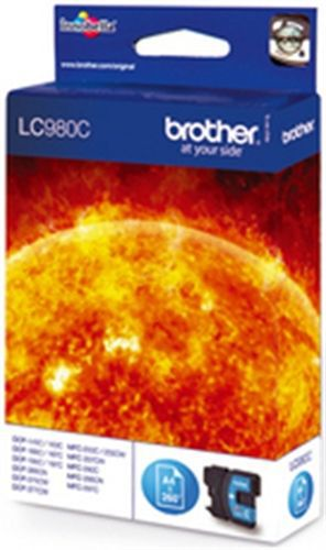 Brother LC980C, Cartuccia d'inchiostro cyan, 260 pagine