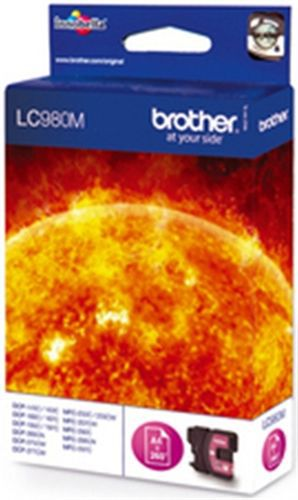 Brother LC980M, Cartuccia d'inchiostro magenta, 260 pagine