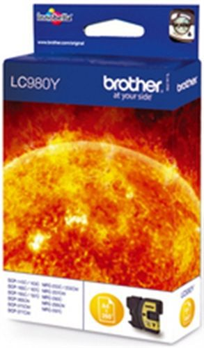 Brother LC980Y, TPA yellow, 260 Seiten