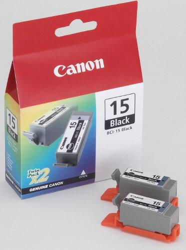 Canon BCI 15BK, TPA schwarz