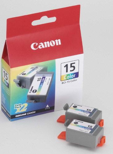 Canon BCI 15c, TPA farbig