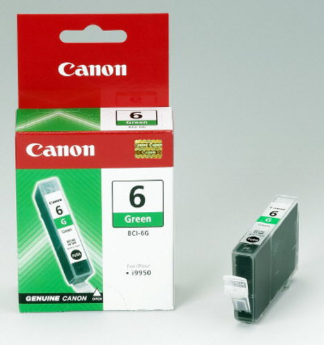 Canon BCI 6G, Cartuccia d'inchiostro vert