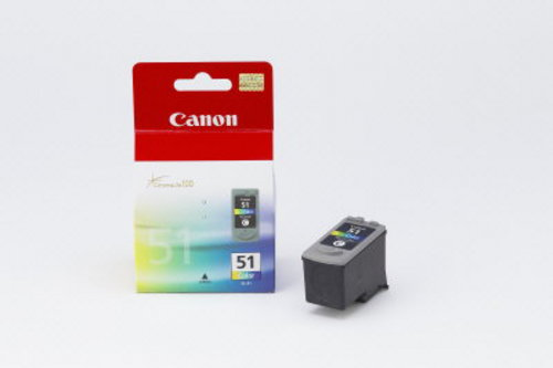 Canon CL-51, Cartuccia d'inchiostro color dye High Yield