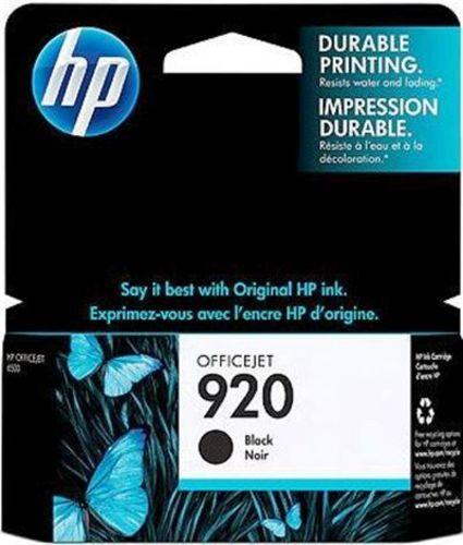 HP Nr. 920 black, TPA schwarz, 420s, CD971AE