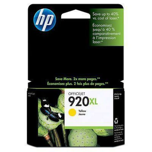 HP Nr. 920XL yellow, TPA yellow, 700s, CD974AE
