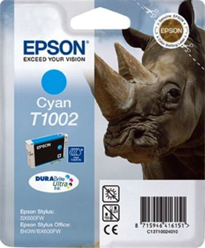 Epson T100240, Cartuccia d'inchiostro cyan, 11.1ml