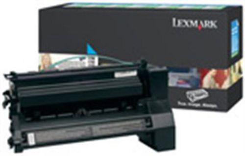 Lexmark C780 High Yield, Toner cyan, 10'000s