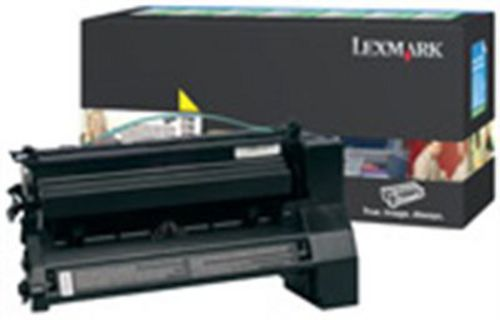 Lexmark C780 High Yield, Toner jaune, 10'000 pages