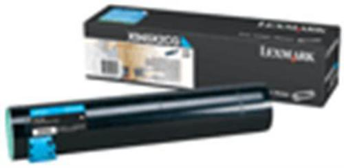 Lexmark X945 High Yield, Toner cyan, 22'000 pages