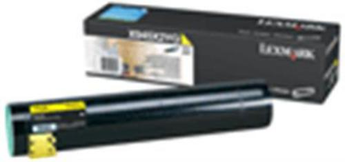 Lexmark X945 High Yield, Toner yellow, 22'000s