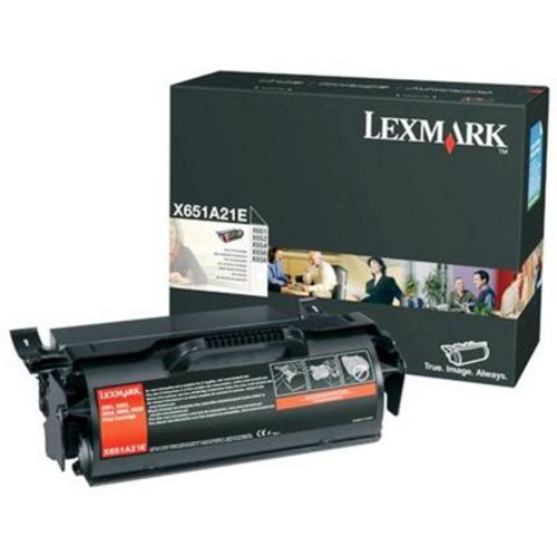 Lexmark X651, Toner schwarz, 7'000s