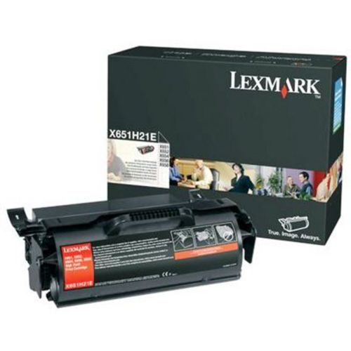 Lexmark X651 High Yield, Toner noir, 25'000 pages