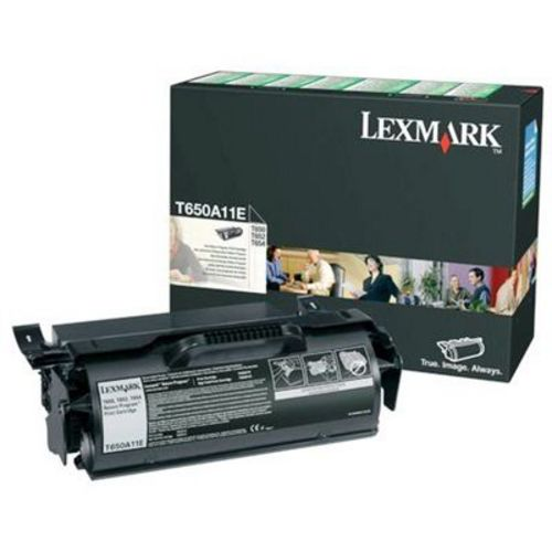 Lexmark T650, Toner schwarz, 7'000s
