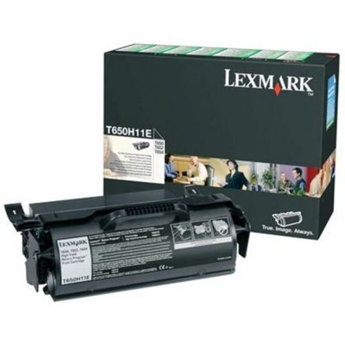 Lexmark T650 High Yield, Toner noir, 25'000 pages