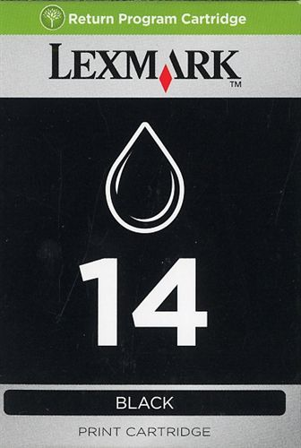 Lexmark No. 14, TPA schwarz, 175s