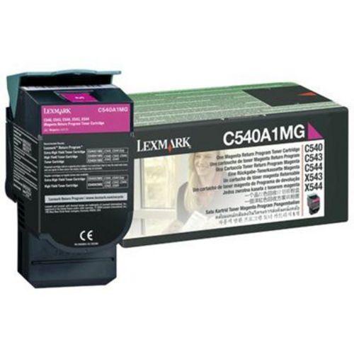 Lexmark C540, Toner magenta, 1'000s