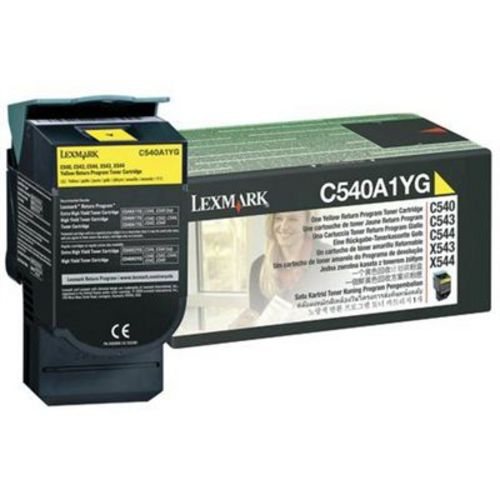 Lexmark C540, Toner giallo, 1'000 pagine