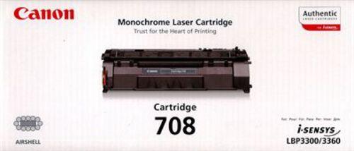 Canon 708, Toner nero, 2'500 pagine