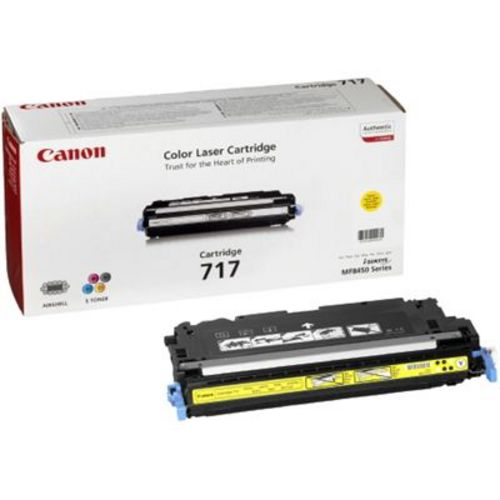 Canon 717, Toner jaune, 4'000 pages