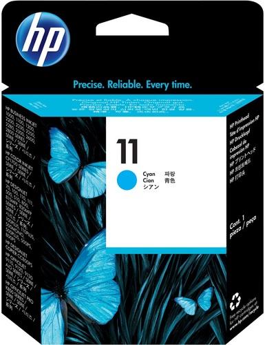HP No. 11, Cartouche d'encre cyan, Tête d'impression, C4811A