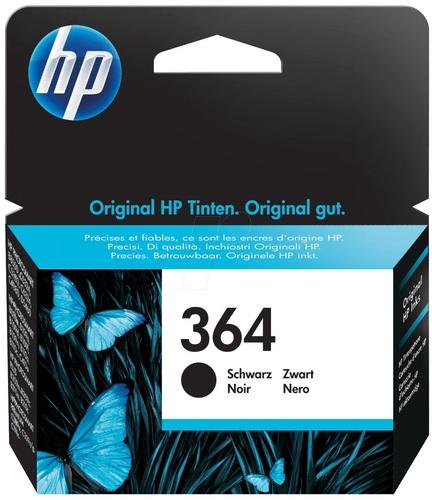 HP Nr. 364, TPA schwarz, CB316EE