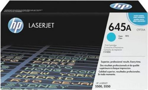 HP C9731A, Toner cyan 12'000 pages