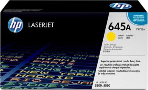 HP C9732A, Toner jaune 12'000 pages