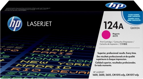 HP 124A, Toner magenta 2'000 pages
