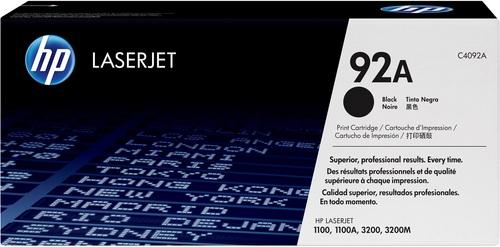HP C4092A, EP 22, Toner noir 2'500 pages