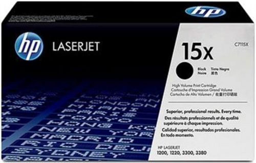 HP C7115X, Toner schwarz,3'500s, High Capacity