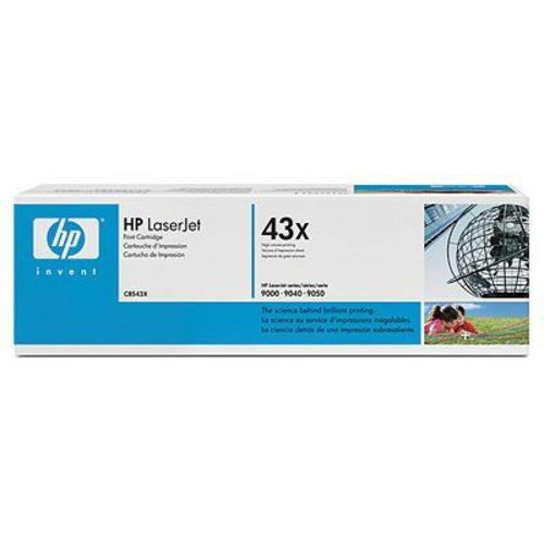 HP C8543X, Toner noir 30'000 pages High Capacity