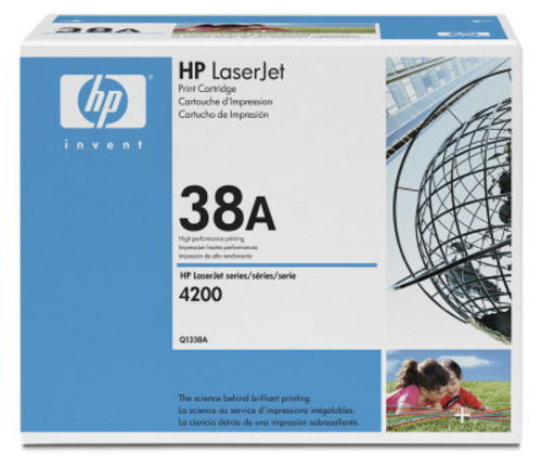 HP Q1338A, Toner noir 12'000 pages