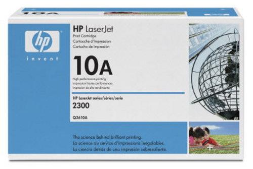HP Q2610A, Toner noir 6'000 pages